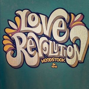 NWT Woodstock T-shirt